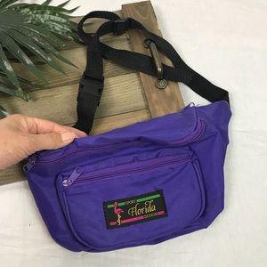 Vintage purple Fanny waist pack